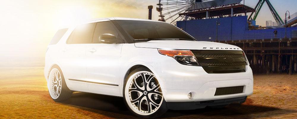 Custom Ford Explorer >> カスタムパーツカタログ - フォード エクスプローラー | キャルウイング | 輸入車販売店