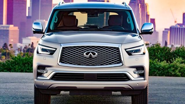 infiniti qx80 2018 package